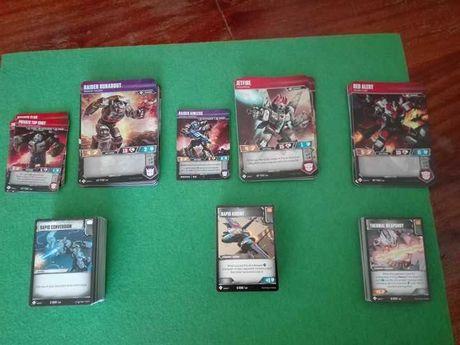 Transformers TCG - Lote de coleção