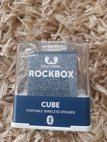 Głośnik RockBox Cube Fabriq Edition, Bluetooth