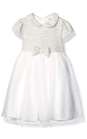 Новое нарядное платье американский бренд Little me 1-2 года