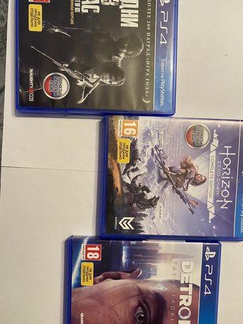 Продам игровые диски для PS4