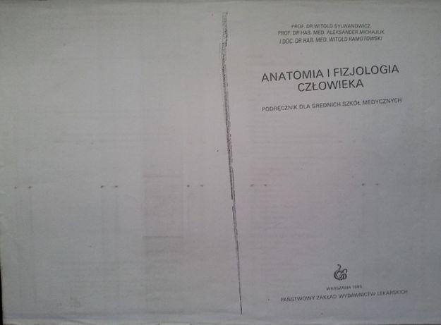 Anatomia i fizjologia człowieka W.Sylwanowicz
