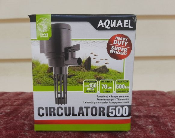 Насос, голова Aquael Circulator NEW 500, НОВЫЙ!
