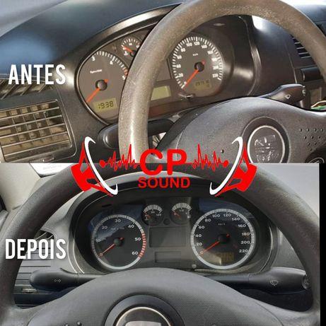 Adaptação e montagem de quadrante conta quilometros em Seat ibiza 6k2