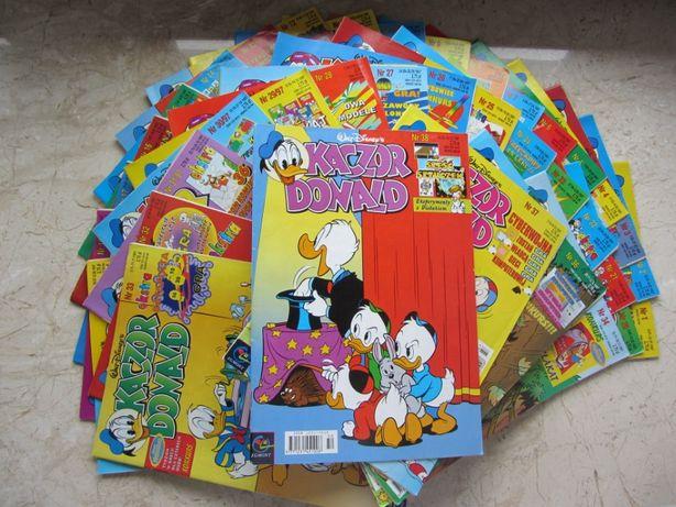 "Komiksy ""Kaczor Donald"" z lat: 1996, 1997"