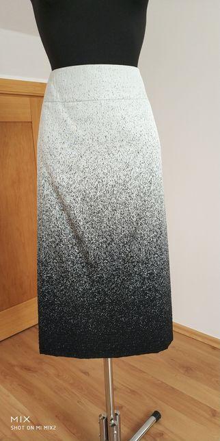 Nowa spódnica szaro-czarna rozm.48