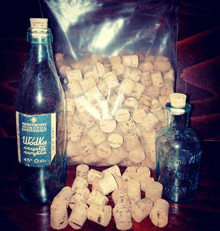 Korki koreczki do starych butelek