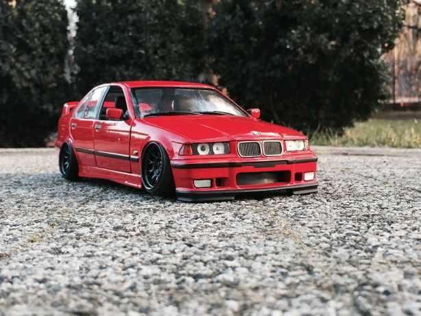 BMW 318is 1:18 Ut models Stance tunning M54b30