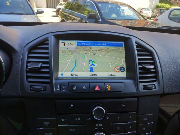 Auto Rádio Opel Insignia GPS USB Bluetooth Android