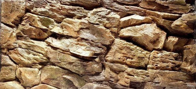 Tło strukturalne 3D do akwarium terrarium skały ok 120x50