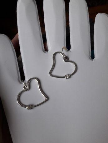 """Сережки """"закохані серця"""""""
