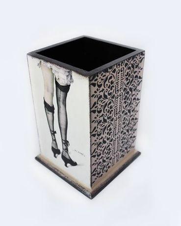 Органайзер Кокетка под канцелярские или косметические предметы.