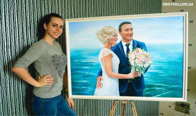 Художник. Портреты маслом на холсте и картины на заказ