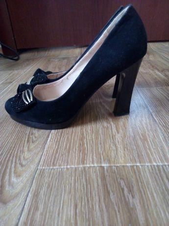 Замшевые туфли!