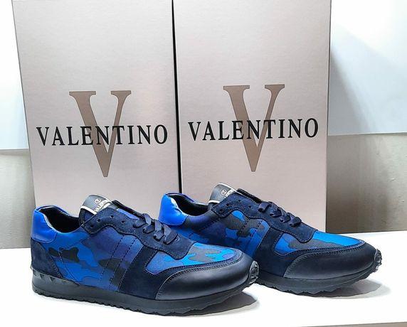 Valentino garavani skóra naturalna buty kolekcje 2021