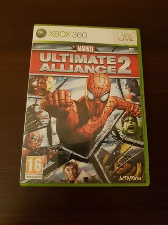 Ultimate alliance 2 Marvel xbox 360