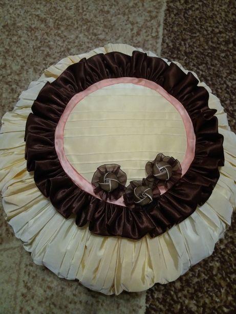 Подушка декоративная (ручная работа)