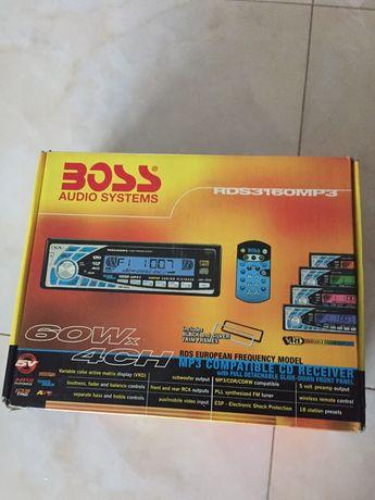 Radio Boss RDS 3160 mp3 nowe/ pilot