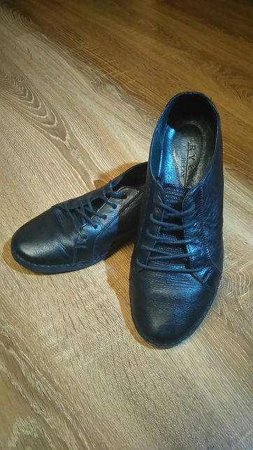 NOWE buty Ryłko ze skóry r.40