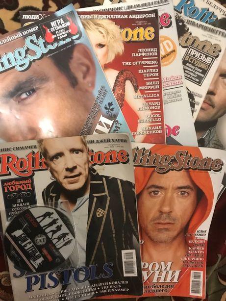 Много журналов Rolling Stone