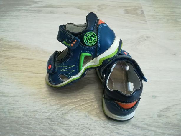 Детские кожанные босоножки/сандали Clibee (Клибе) 25 размер, 13.5см