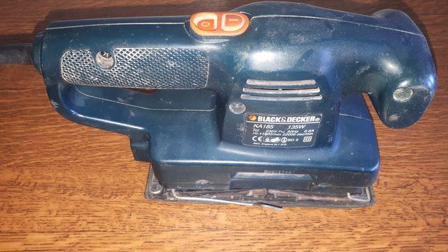 Szlifierka oscylacyjna Black&Decker KA 185 uszkodzona