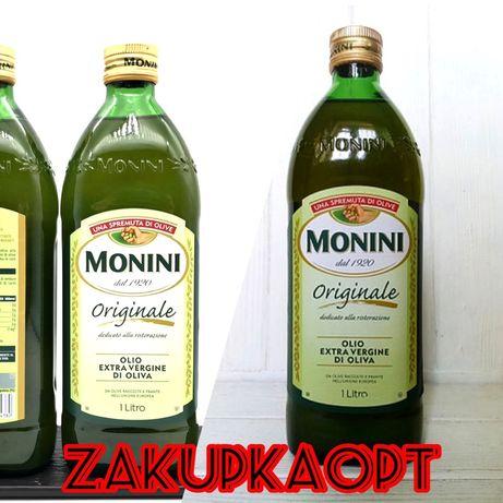 Масло Monini 1л,Оливкова Олія Моніні,Оливковое Масло,Продукты с Италии