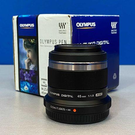 Olympus M.Zuiko Digital 45mm f/1.8 MSC