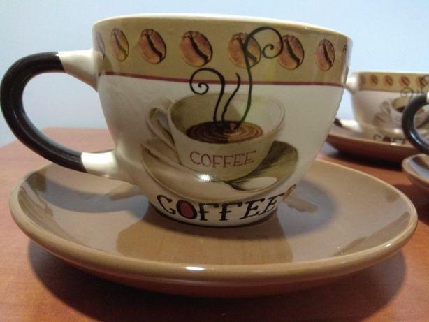 Zestaw 4szt filizanek do kawy