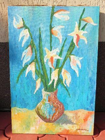 Sprzedam obraz malowany na płótnie