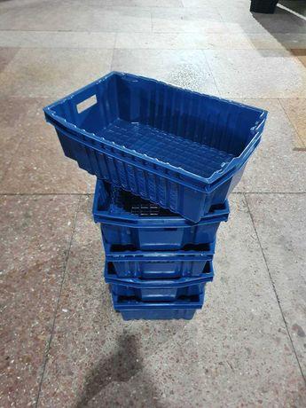 Ящик пластиковый сплошной, оборотный 1.6 кг (600х400х180)