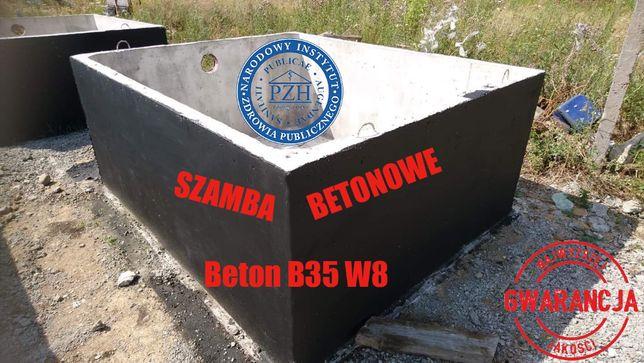 Szambo zbiornik szamba zbiorniki betonowe Koronowo 2m3 12m3 8m3 6m3