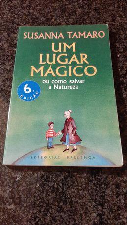 """Livro """"Um lugar Mágico"""" - Susanna Tamaro"""