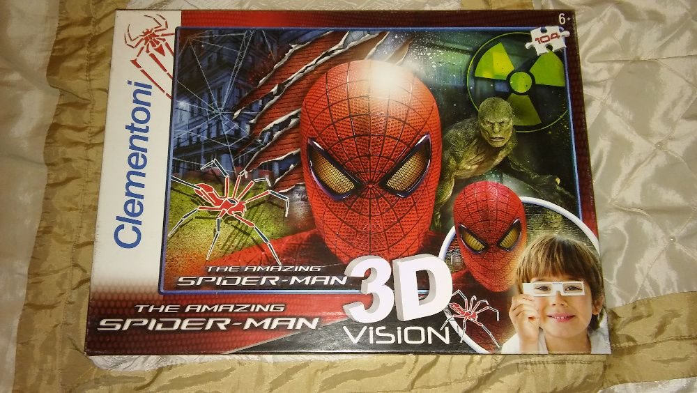 Spiderman puzzle 3D 104 el. Bydgoszcz - image 1