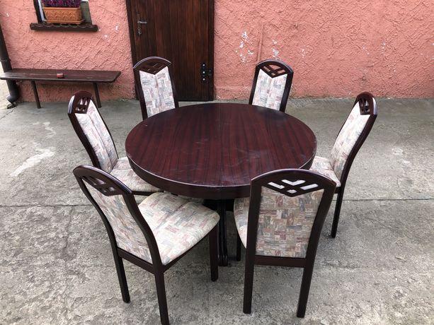 6 Krzeseł i stół