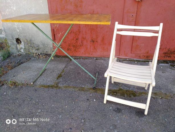стол и стул раскладной