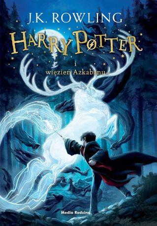 Harry Potter i Więzień Azkabanu - J.K. Rowling - oprawa TWARDA