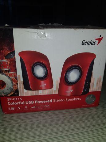 Продам колонки Genius SP-U115