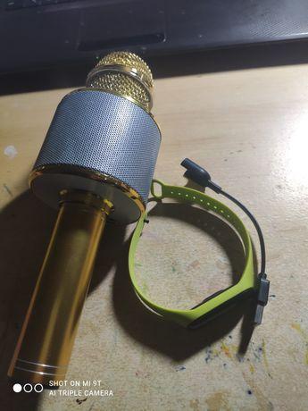 Zprzedam mikrofon+zegarek