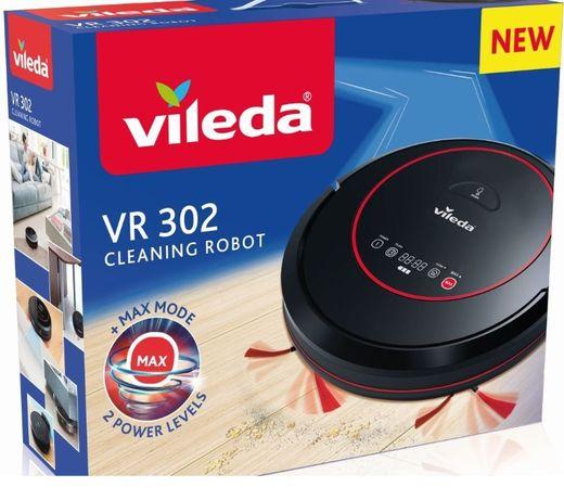 Odkurzacz robot sprzątający VILEDA VR 302 -prawie NOWY Gwarancja!