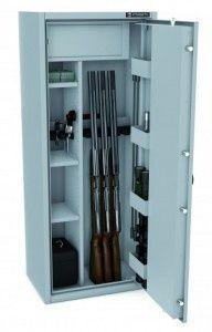 Szafa na broń S1 sejf 6-10 luf, KONSMETAL MLB150D/6+4 f-a VAT