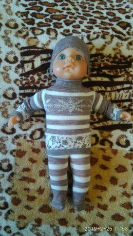 Кукла пупс мягконабивной