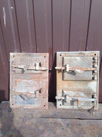 Stare drzwiczki do odświeżenia