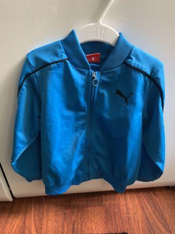 Śliczna bluza Puma ! Niebieska ! Ideal ! 98