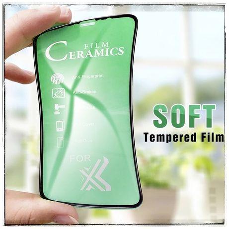 Гибкое стекло для iphone айфон se 6s 7 8 plus x xr xs 11 pro max