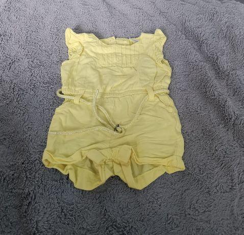 Żółty kombinezon letni TAO 6mcy