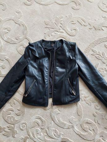 Zara куртка шкіряна жіноча