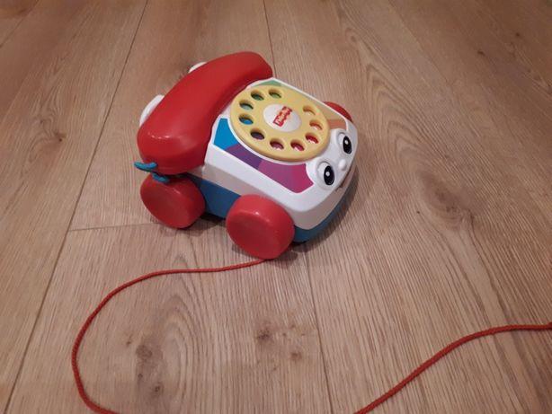 Telefon Fisher price na sznurku