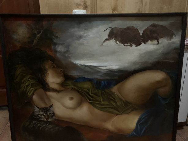 Картина Ирина Проценко «Сон провинциалки» 1995 г