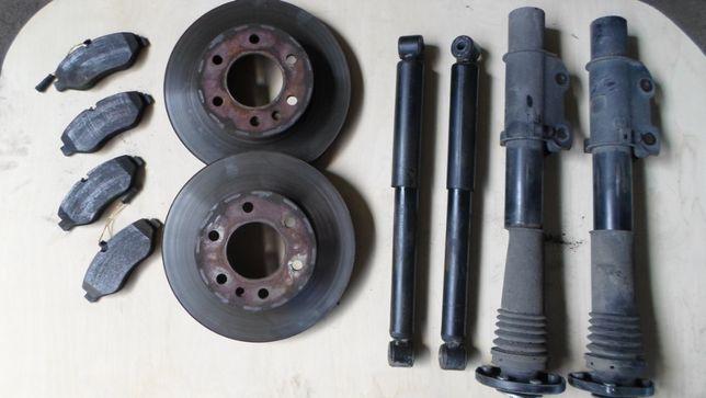 амортизатор стойка диск тормозной Спринтер Sprinter Crafter Крафтер