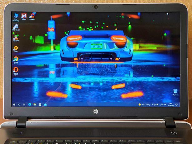 Большой, современный игровой б.у ноутбук из ЕВРО: HP 17-G. Магазин